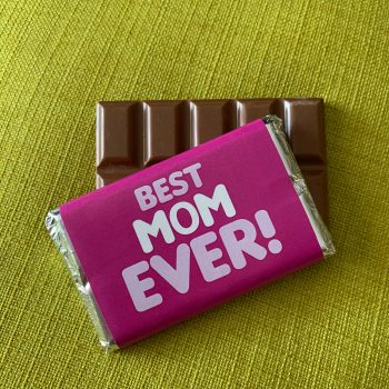 best mom ever | medium | chocolate bar | sweetalk