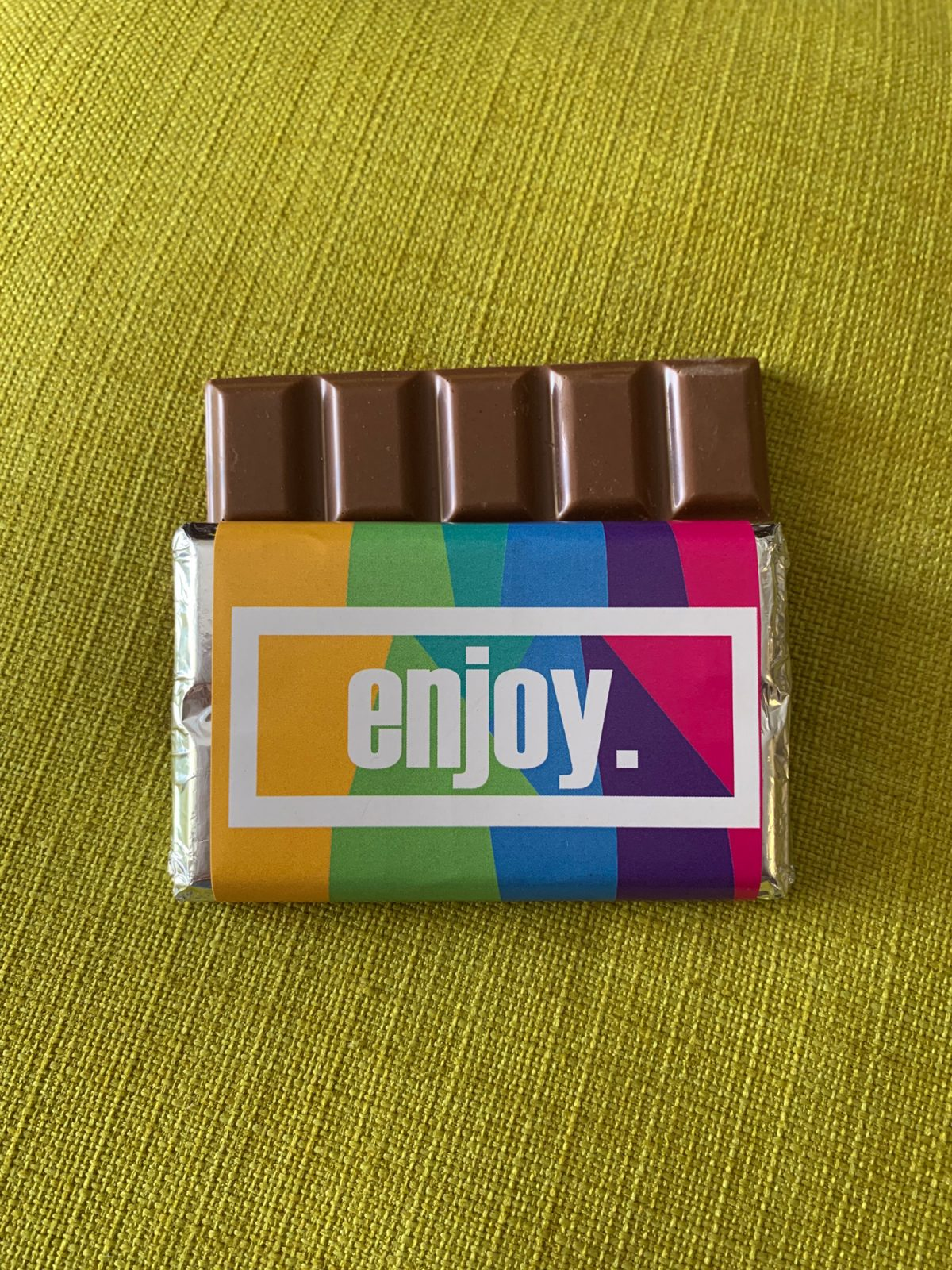 enjoy | medium | chocolate bar | sweetalk