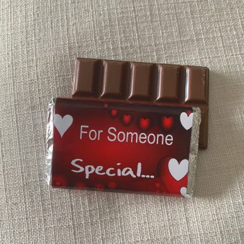 for someone special | medium | chocolate bar | sweetalk