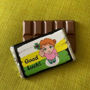 good luck | medium | chocolate bar | sweetalk