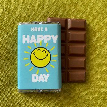 have a happy day | medium | chocolate bar | sweetalk