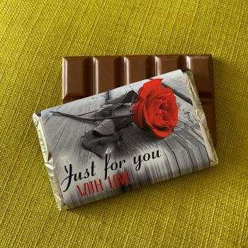 just for you with love | medium | chocolate bar | sweetalk