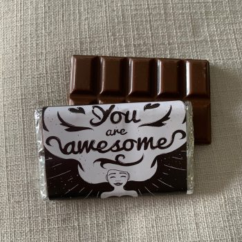 you are awesome | medium | chocolate bar | sweetalk