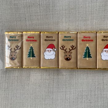 merry christmas chocolate santa christmas tree deer   party pack   sweetalk